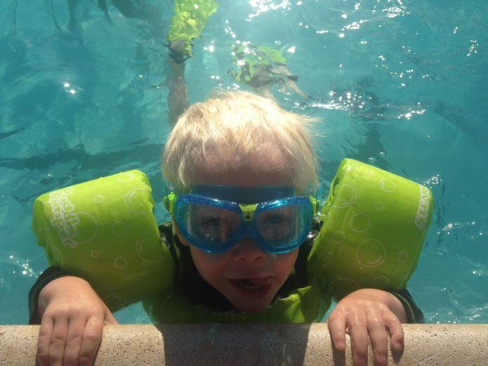 FinnGogglesSwimming