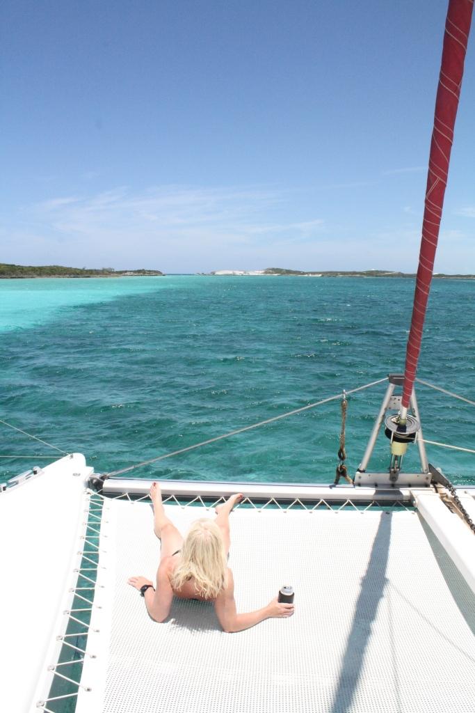 Bahamas, 2014 - wearing SPF 50.