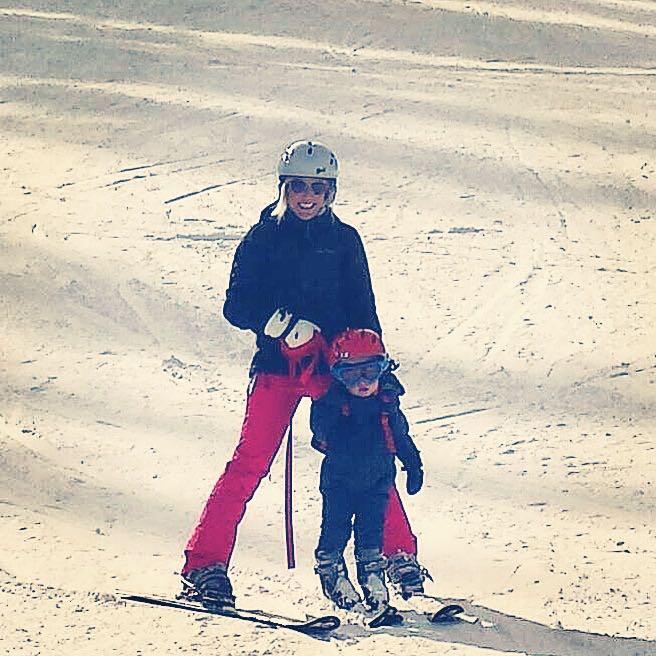 SkiingWithMama