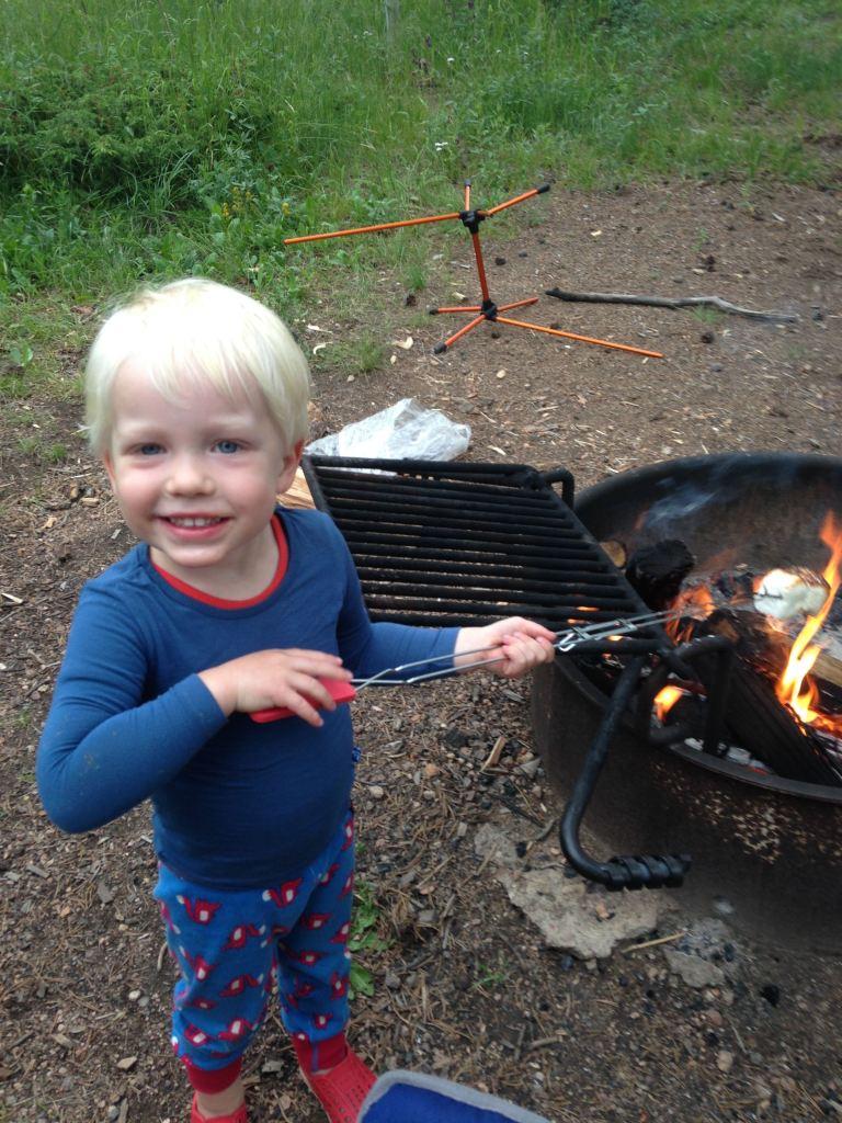 FinnRoastingMarshmallow